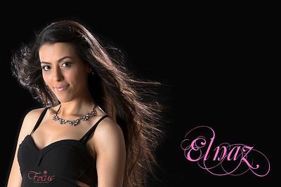 Model:Elnaz. Make-up Artist:  MJ Beauty Hair: Amy Thomas