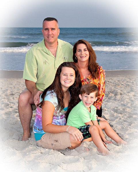 Emerald Isle Family Beach Photo, Gillis Family