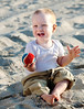 Baby on   the beach, Emerald Isle, NC