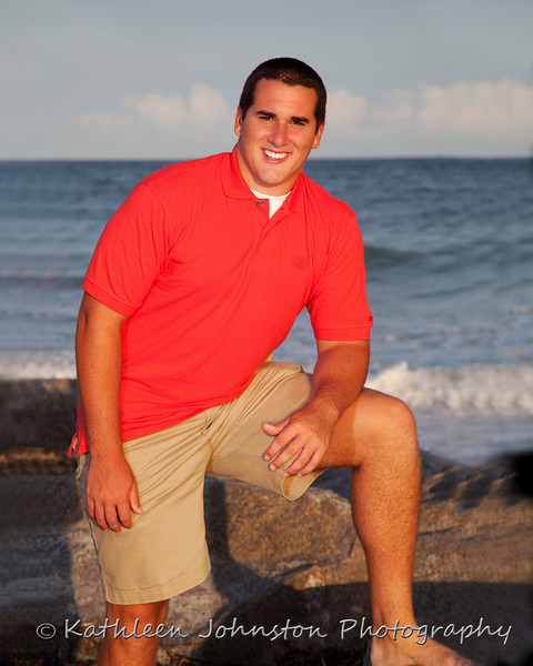Senior photo, Atlantic Beach, NC