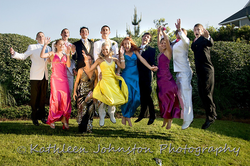 Prom photos, Emerald Isle, NC