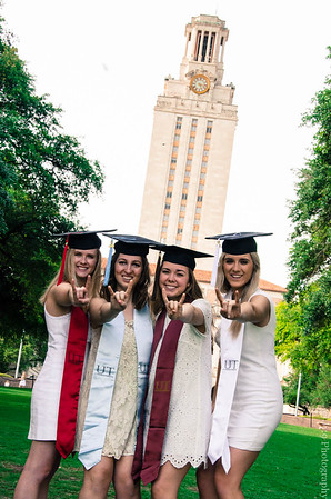 UT Group Graduate Portrait Session