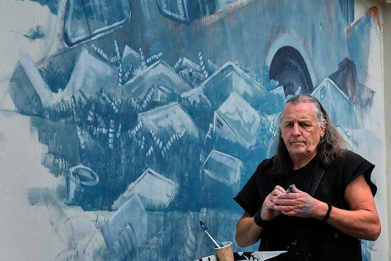 Street Artist in residence
