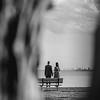 couple-bench-sea-old-new-castle-de-engagement-kate-timbers-photography-3669
