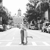 couple-kiss-broad-street-downtown-charleston-sc-engagement-kate-timbers-photography-3518