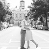couple-kiss-broad-street-downtown-charleston-sc-engagement-kate-timbers-photography-3520