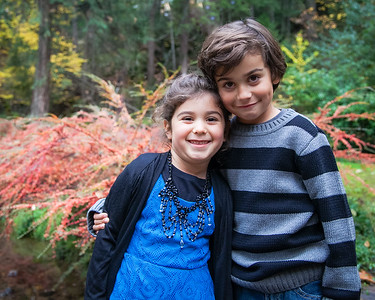 siblings,  Nevada City family portraits 2014