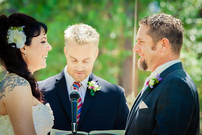 Wedding Ceremony, Rollins Lake, CA
