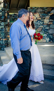 Dad and Daughter wedding day, Marion Charlotte Photo