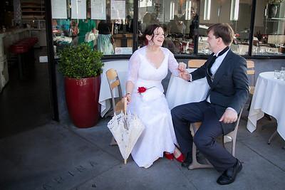 San Francisco wedding couple