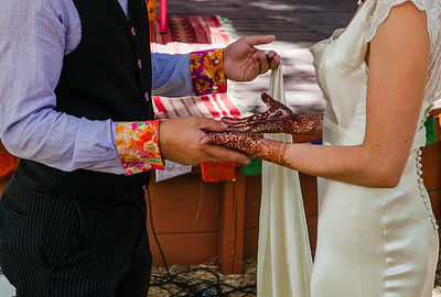 groom, bride, henna,