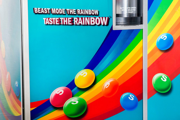 Beast Mode Skittles Dispenser