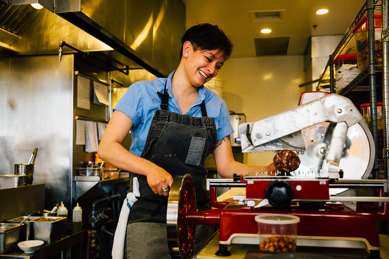 Chef Katie at Vespolina, Seattle