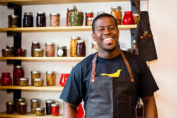 Edouardo Jordan at Junebaby Seattle