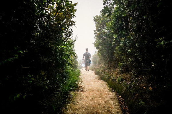 Hiking to Repulse Bay, Hong Kong