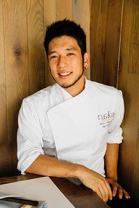Chef Shota Nakajima of Naka Seattle