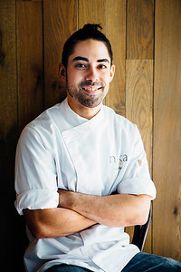 Chef Aaron Ingersoll of Naka Seattle