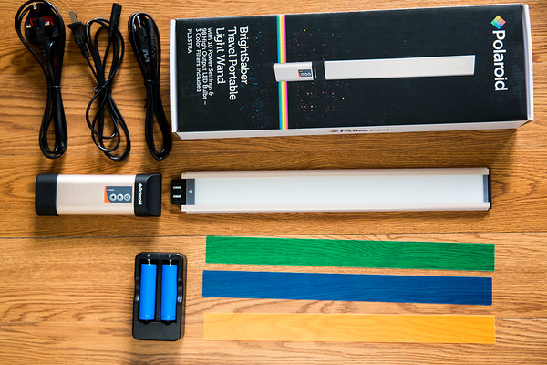 Polaroid BrightSaber Travel Lighting Wand