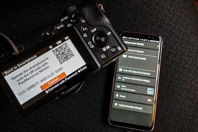 Sony a6300 Wi-Fi Wireless