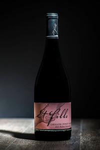 Washington and Oregon Wine Bottles