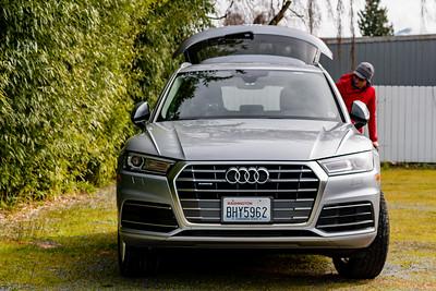 Audi Q5 by Silvercar in Skagit Valley, Washington