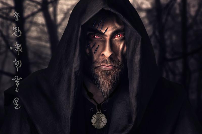 Azeehr - cyber shaman photoshop manipulation