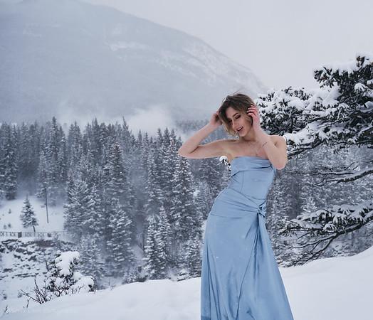 Banff Portrait with Natalia & Mildred