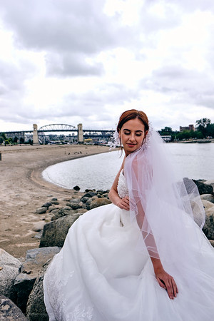 Bridal shoot with RaeAnne