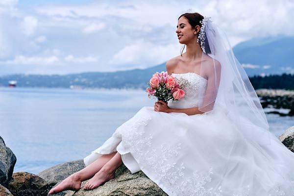 Bridal shoot with RaeAnne