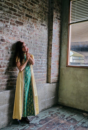 Photoshoot with Maddi at Kate's workshop