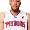 Oct 1, 2012; Auburn Hills, MI, USA; Detroit Pistons forward Tayshaun Prince (22) during media day at the Pistons Practice Facility. Mandatory Credit: Tim Fuller-US PRESSWIRE