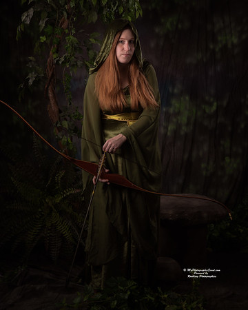 Brave maid Marian