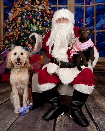 Bonney Lake Pet Pros Santa