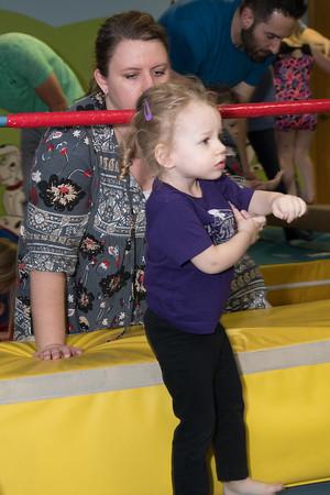 Brynlee at gymnastics class-1