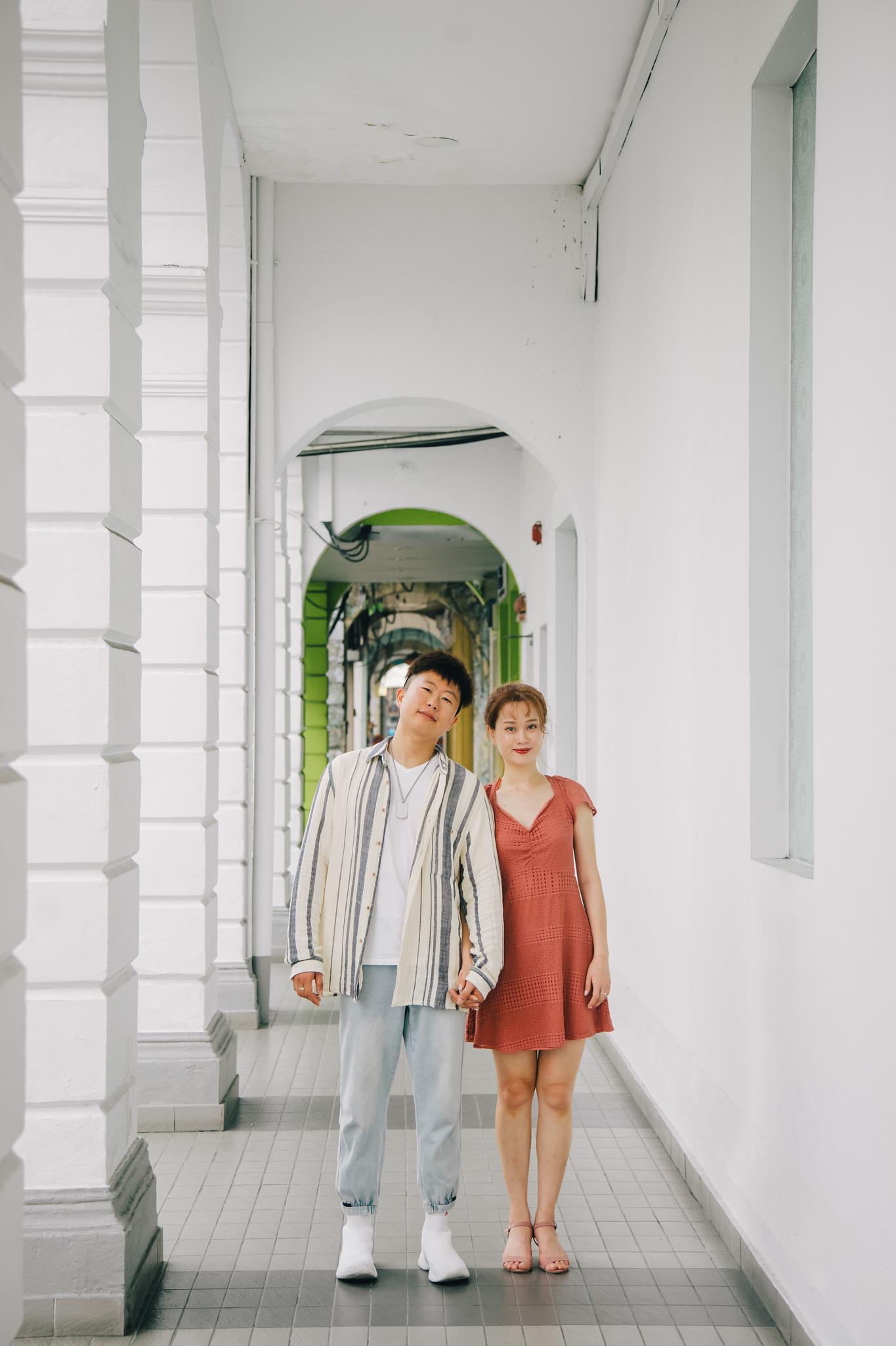 Lifestyle Couple Street Shoot in Seremban Town, Negeri Sembilan