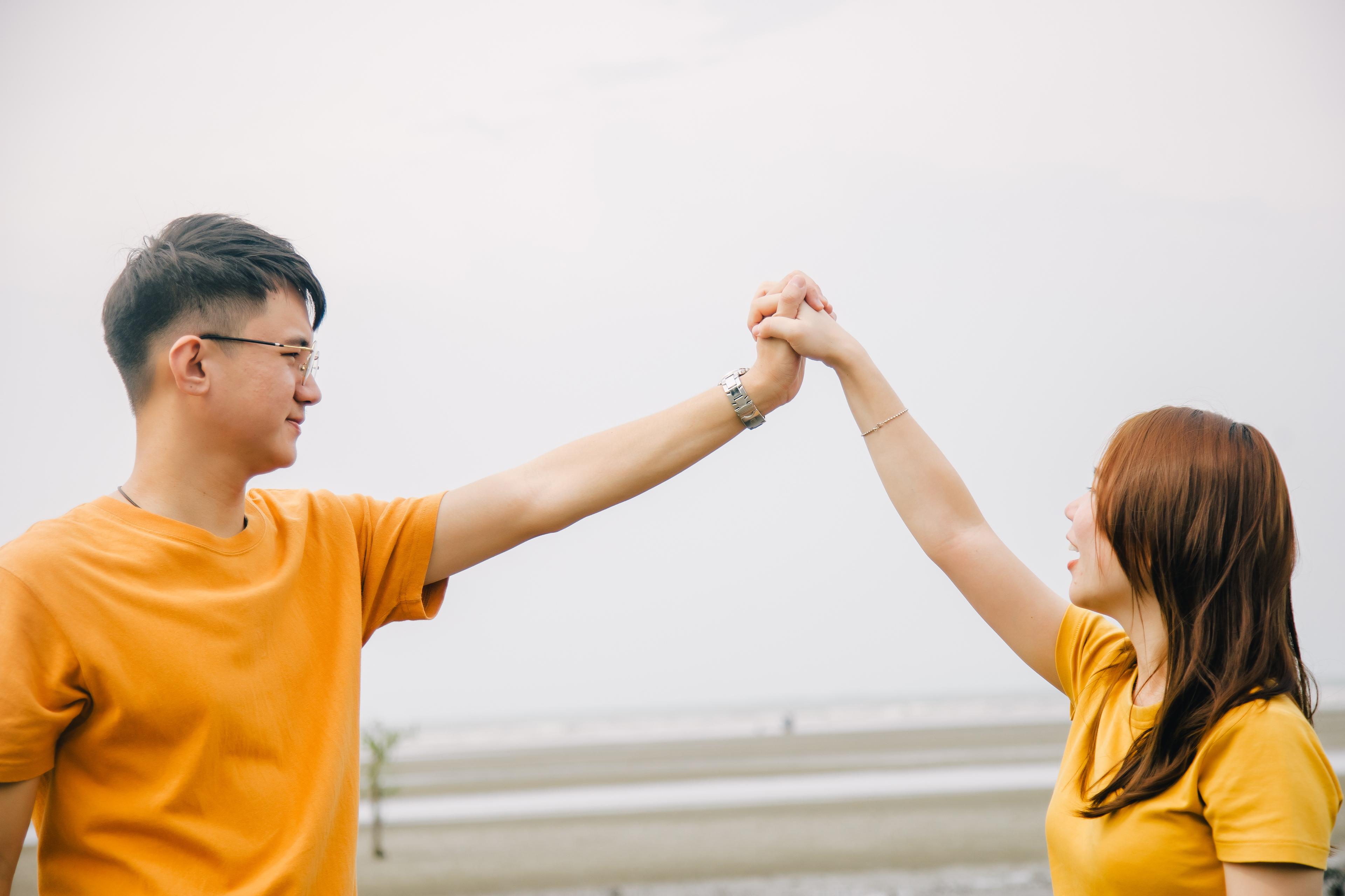 Pre Wedding Lifestyle Couple Shoot in tanjung sepat