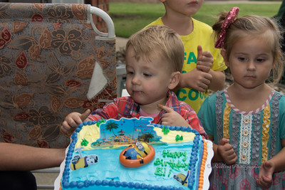 Eli's 2nd Birthday Cake Smash Party