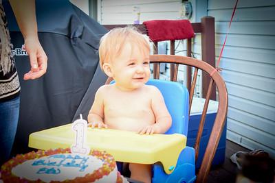 Eli's 1st Birthday Cake Smash Pictures
