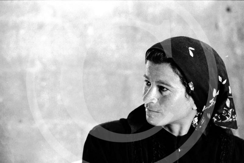 Woman in Biet Hannon, Gaza