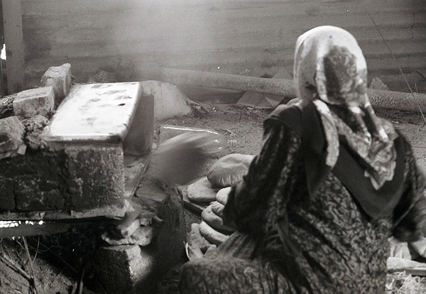 Bedouin Woman Cooking