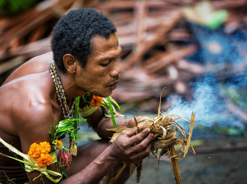Fire Starter, Papua New Guinea