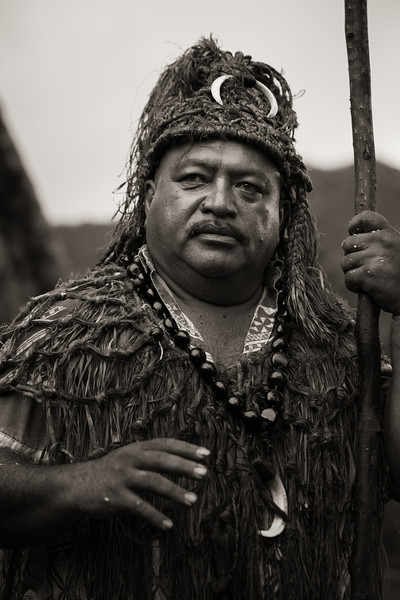 Chief, Rarotonga, Cook Islands