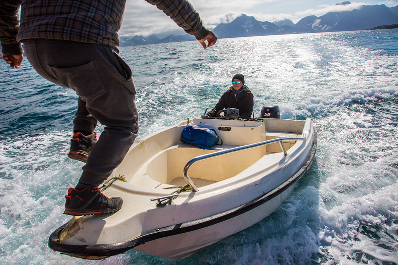 Boat Transfer, Greenland