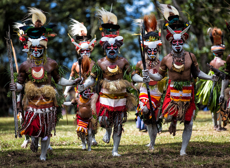 Sing Sing Dancers, Papua New Guinea