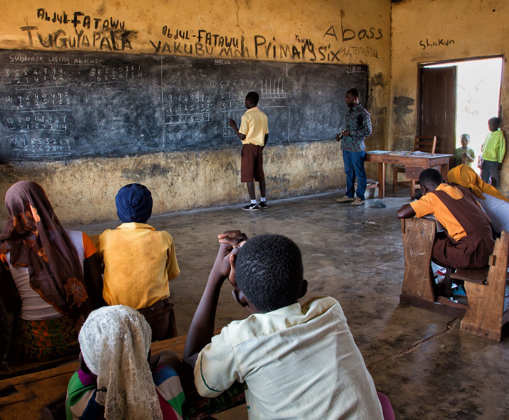 School Day, Dagomba Village, Ghana