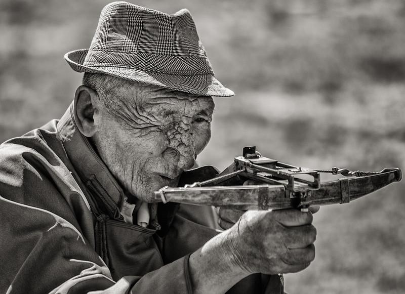 Crossbow Man, Mongolia