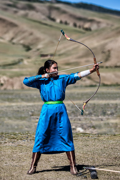 Nadam Archer, Mongolia