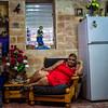 Senorita Lounging, Havana, Cuba