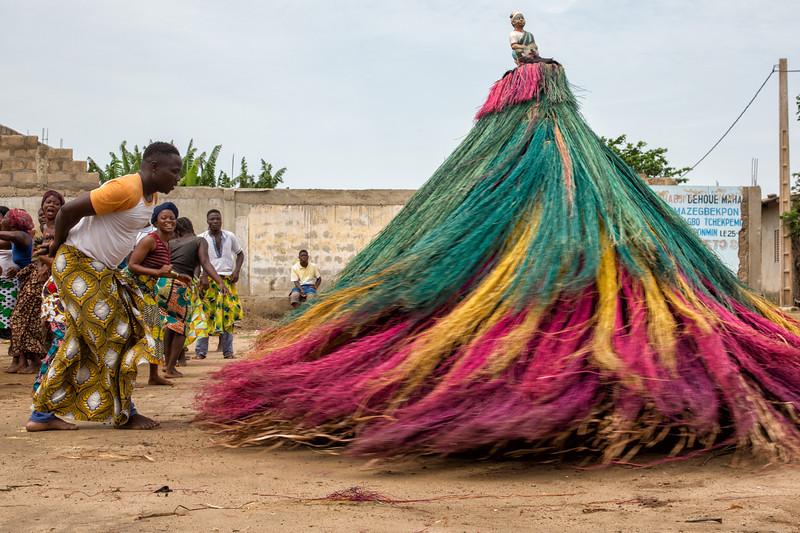 Confronting the Spirit, Zangbeto Mask Festival, Benin