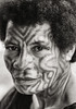 Tattooed  Woman, Papua New Guinea